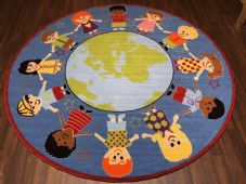 200CMX200CM OUR WORLD RUGS/MATS HOME/SCHOOLS EDUCATIONAL NON SILP MATS NICE